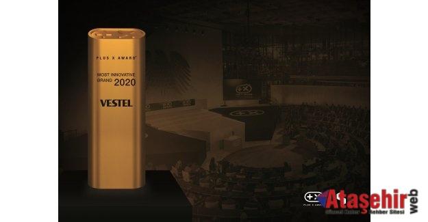 Plus X Award 'En Yenilikçi Marka Ödülü' Vestel'in