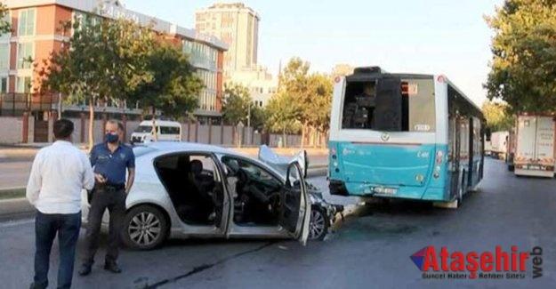 Ataşehir'de Trafik Kazası 1 Ölü