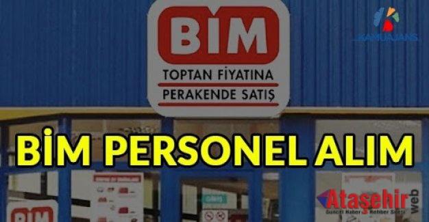 BİM Türkiye Genelinde Birçok Şehirde Personel Alımı