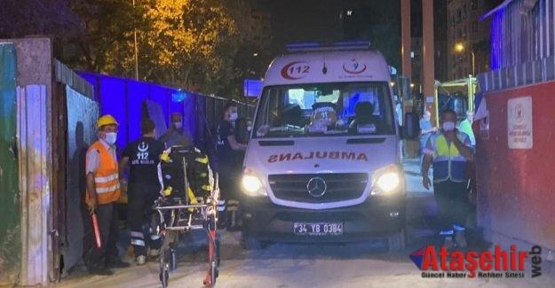 Göztepe metro inşaatında meydana gelen kazada 2 işçi yaralandı