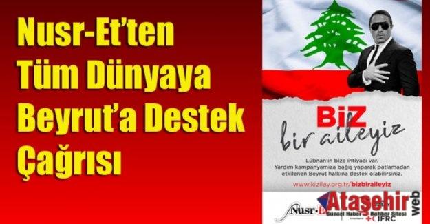 Nusr-Et'ten Tüm Dünyaya Beyrut'a Destek Çağrısı