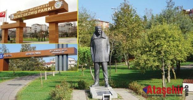 Ataşehir'de Deniz Gezmiş Parkı'nın ismi değişti