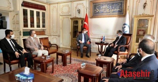 İmamoğlu'ndan İstanbul Müftülüğü'ne ziyaret