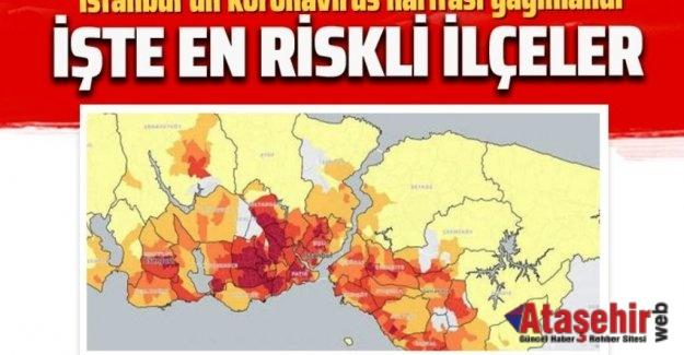 COVID-19 İstanbul Kırılganlık Haritası