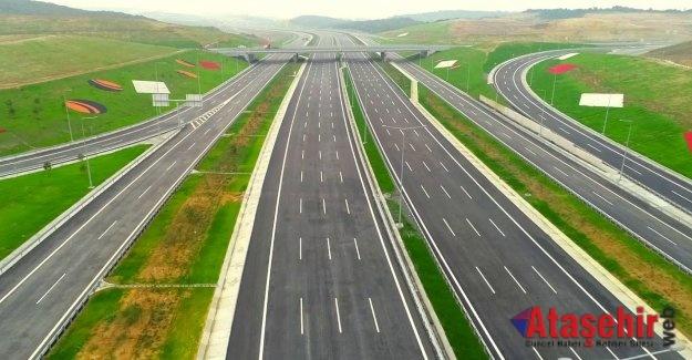 Kuzey Marmara Otoyolu hizmete açıldı