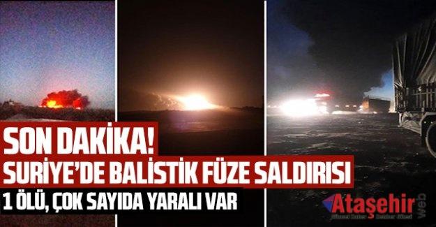 Cerablus ve El Bab'da peş peşe balistik füze saldırısı!