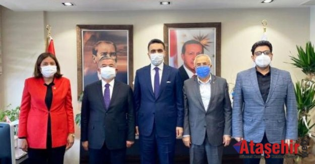 AK Partili vekillerden İstanbul çıkartması