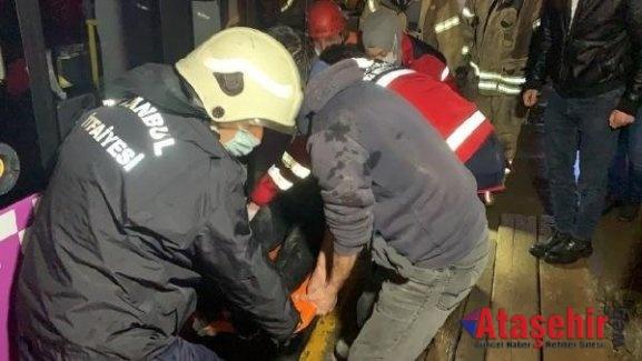 Ataşehir'de Araçın Çarptığı kadın hayatını kaybetti.