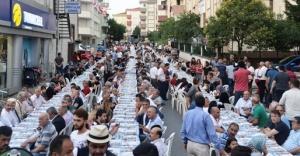 """Çekmeköy Sokak iftarında """"birlik"""" mesajı"""