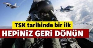 TSK'dan 500 pilota, Geri dönün çağrısı