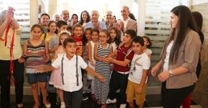 Ataşehir'in Minik Sanatçılarından Yılsonu Sergisi