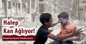 İnsan Vakfından Halepe 50 Tır İnsani Yardım