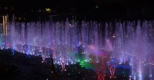 Yeni yıla Watergarden'da su ve dans gösterisi ile girilecek