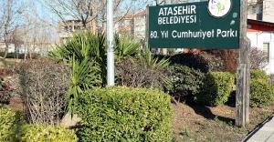 Ataşehir'de Yeşil alanlar artıyor