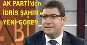 İdris Şahin'e AK Parti'de yeni görev!