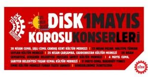 DİSK Korosu'ndan 1 Mayıs konserleri