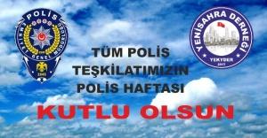 Tüm Polislerimizin Polis Haftası Ve Polis Günü Kutlu Olsun