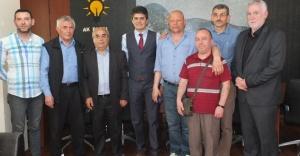 YENİSAHRA DERNEĞİ'NDEN Av. AHMET ÖZCAN'A ZİYARET