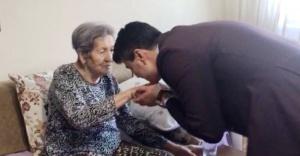 Ahmet Özcan'dan Şükran Bitlis'e anlamlı ziyaret