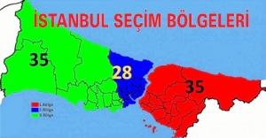 İstanbul seçim bölgeleri