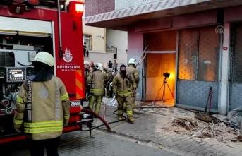 Ataşehir'de korkutan yangın!