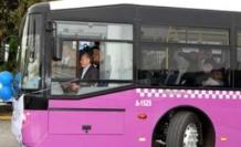 İETT  Erguvan renkli yeni otobüsler kapılarını ilk kez açtı