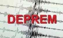 Marmaris'te 4.0 büyüklüğünde korkutan deprem