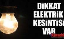 Ataşehir ve Pendik'de elektrik kesintisi