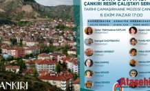 Türk Dünyası Çankırı Resim Çalıştayı
