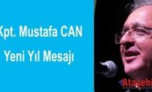 Kaptan Mustafa Can'ın Yeni Yıl mesajı