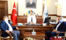 Ataşehir'den Erzincan ValisiMehmet Makas'a ziyaret