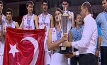Ümit Milli Basketbol Takımımız Avrupa Şampiyonu oldu