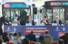 İSTANBUL'A 160 YENİ METROBÜS ARACI