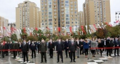 Ulu Önder Mustafa Kemal Atatürk Ataşehir'de anıldı