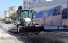 Ataşehir'de  Altyapı çalışmaları hız kesmeden sürüyor
