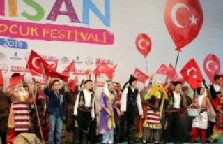 YENİKAPI'DA 23 NİSAN İSTANBUL ÇOCUK FESTİVALİ...