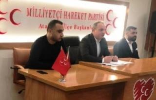 MHP Ataşehir, Derneklerle İstişare Toplantısı...