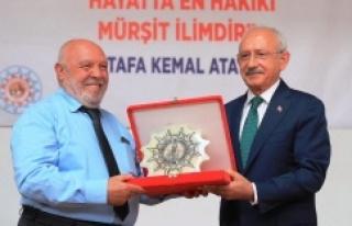 Hacı Bektaş Dostluk ve Barış Ödülü Musa Eroğlu'na...