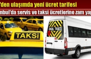 İstanbul'da Taksi, Minibüs, Öğrenci Servis...