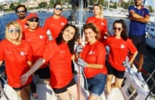 Deniz Kızı Yelken Kupası İkincisi Oldu