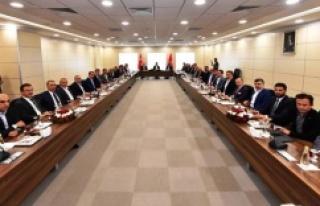 """İSTANBUL'UN BELEDİYE BAŞKANLARI """"ORTAK MASADA""""..."""