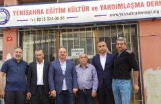 MHP Ataşehir İlçe Teşkilatı'ndan Yenisahra...