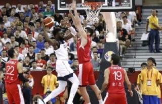 Türkiye A Milli Basketbol Takımı, ABD'ye yenildi:...