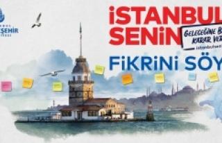 """GELECEĞİNE BİRLİKTE KARAR VERELİM ÇÜNKÜ """"İSTANBUL..."""