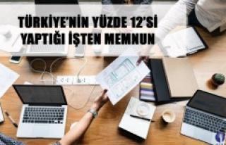 TÜRKİYE'NİN YÜZDE 12'Sİ YAPTIĞI İŞTEN...