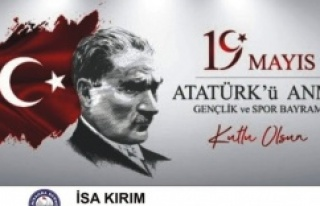 19 Mayıs ATATÜRK'ü Anma,Gençlik ve Spor Bayramımız...