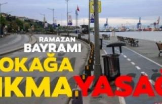 81 İlde Ramazan Bayramı'nda Sokağa Çıkma Kısıtlaması...
