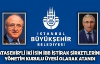 Ataşehir'den iki isim İBB'ye atandı