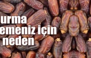 HURMA YEMENİZ İÇİN 8 ÖNEMLİ NEDEN!