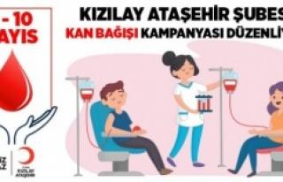 Kızılay Ataşehir Şubesi kan bağışlarınızı...